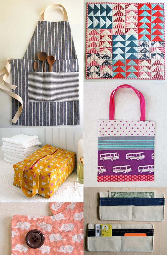Sewing Project Fabric Basket Tutorial: Purl Bee DIY Projects
