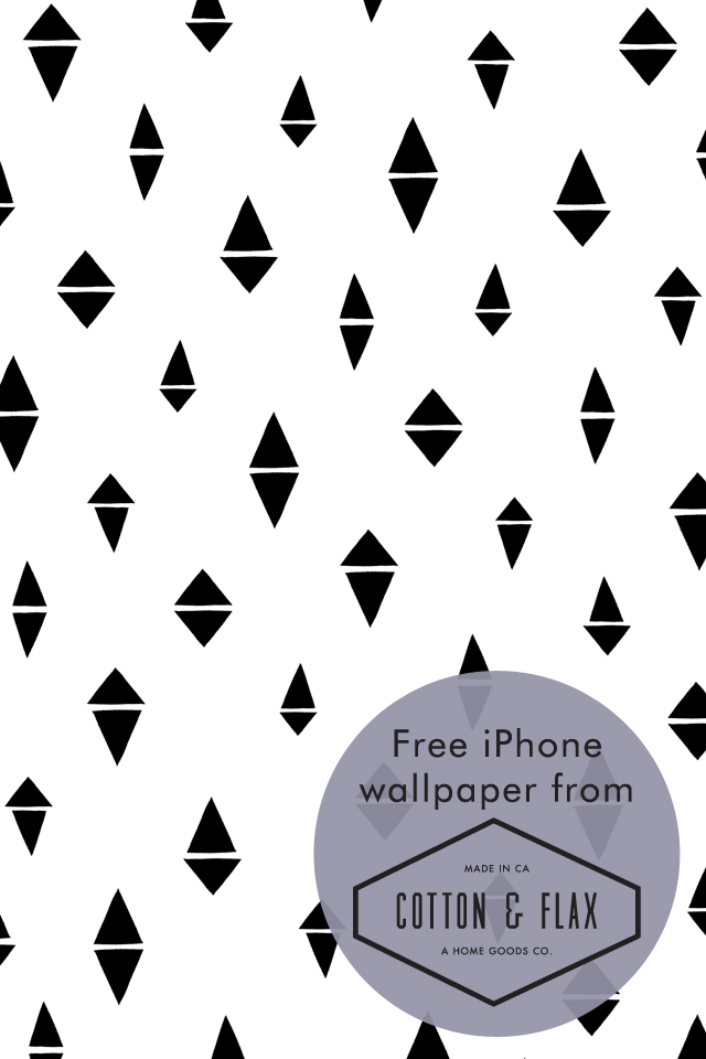 Free Patterned IPhone Wallpaper Divided Diamonds