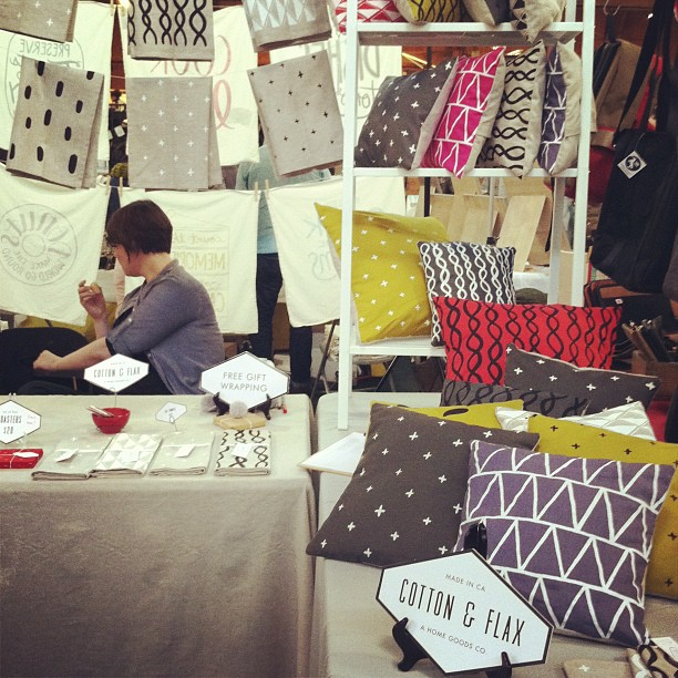 Cotton & Flax at Renegade Craft Fair