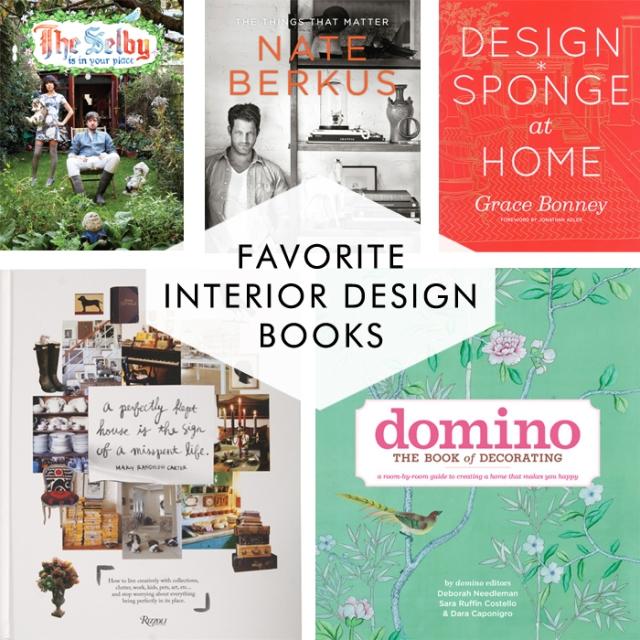 Cotton & Flax / Favorite design books