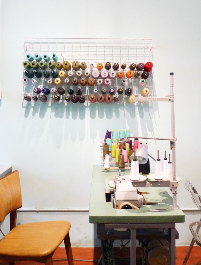 Common Thread sewing table