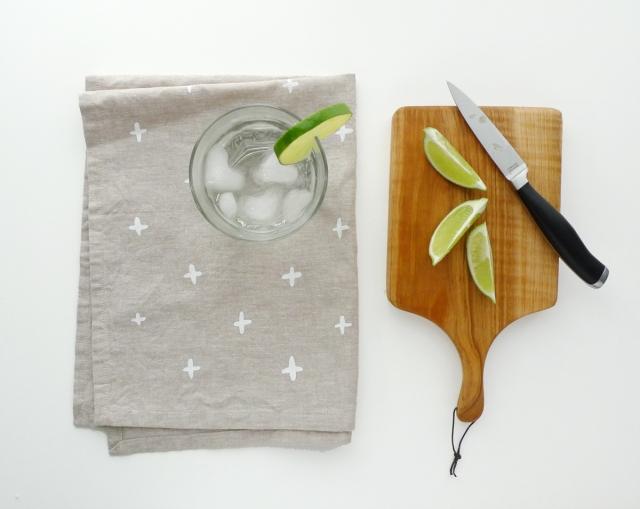 Cotton & Flax tea towel