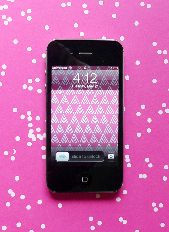 Cotton & Flax free downloadable iphone wallpaper pink mountains 2