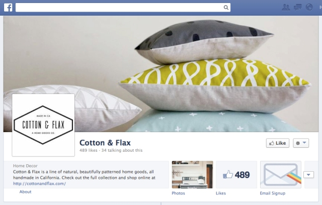 cotton & flax facebook