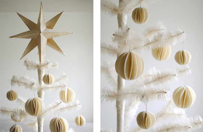 felt-snowball-ornaments