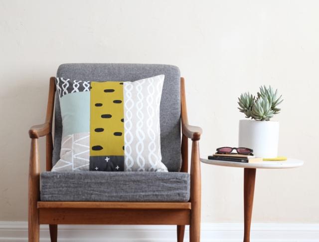 patchwork pillow 5