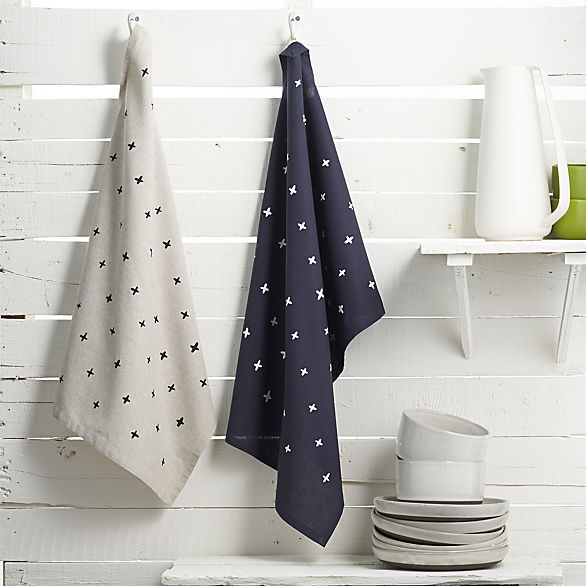 Cotton & Flax plus tea towels for CB2